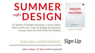 Illustration for article titled Summer of Design Teaches You Core Design Principles via Email