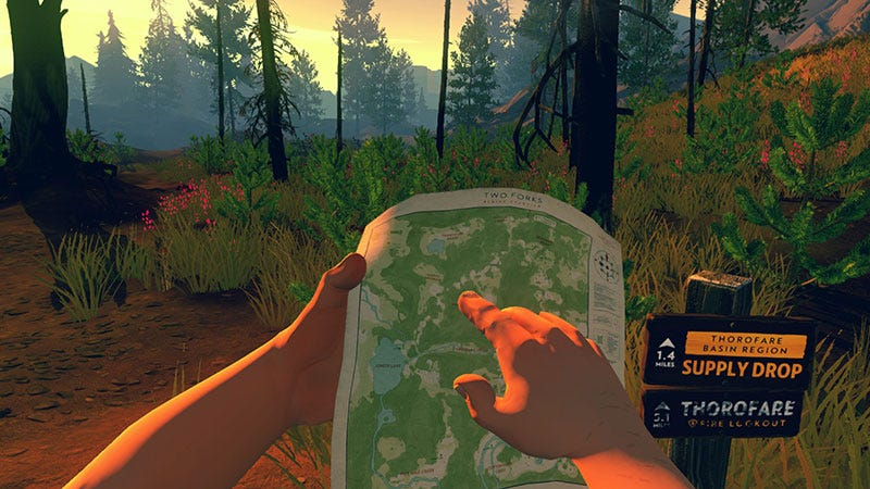 Illustration for article titled Firewatch Developer Offers Classy Response To Steam Refund Request