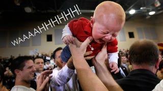 Illustration for article titled Babies Kind of Hate Mitt Romney