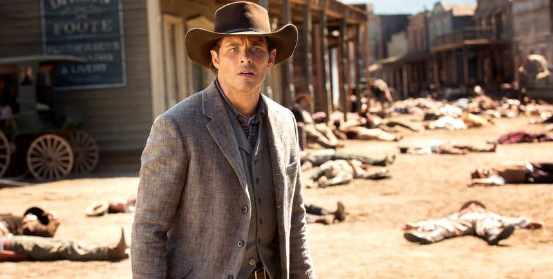 James Marsden in Westworld. Image: HBO