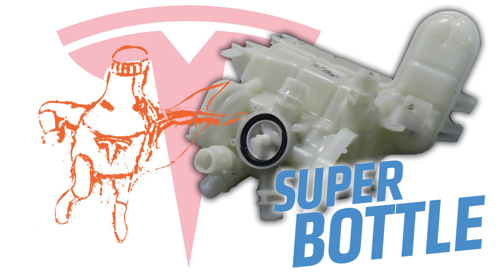 The Tesla Model 3 'Superbottle' Easter Egg Is a Fascinating Packaging Solution