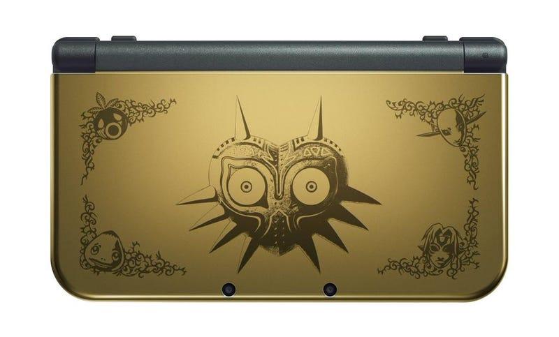 Illustration for article titled La New Nintendo 3DS XL edición Majora's Mask es una preciosidad