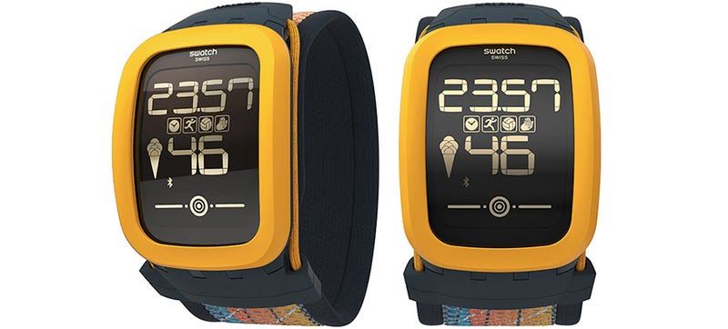 Illustration for article titled Swatch's Touchscreen Watch Gets Smarter With Fitness Tracking Features