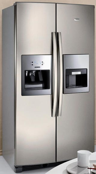 Illustration for article titled Whirlpool's Espresso Refrigerator Makes Your Coffee, Stops Childhood Obesity