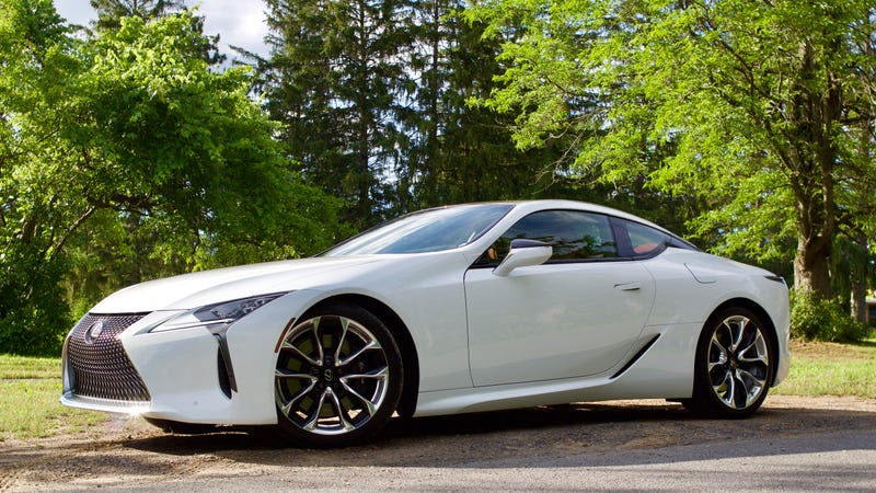 פנטסטי The Lexus LC 500 Is So Perfect That I Don't Want Them to Make an LC-F JT-08