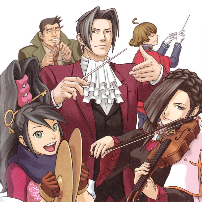 Illustration for article titled Review: Gyakuten Kenji 2 Orchestra Arrangement Collection