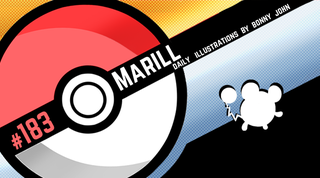 Illustration for article titled Misty Marill! Pokemon One a Day, Series 2!