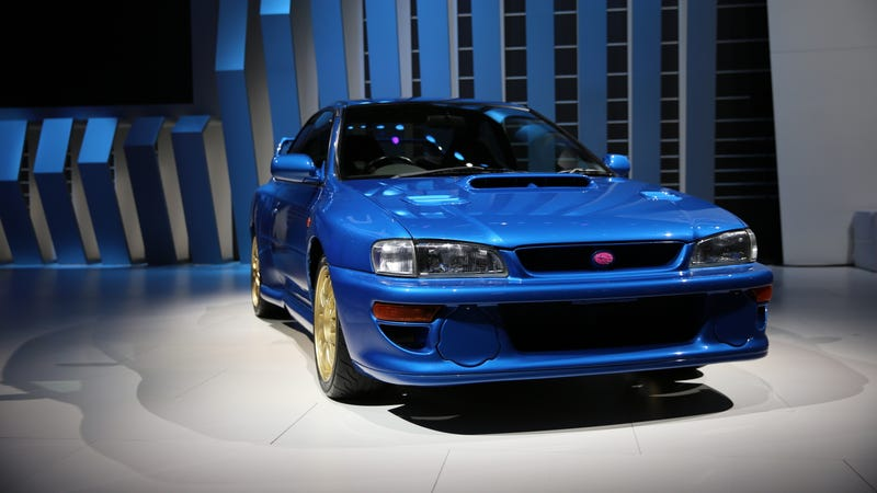 Subaru Brought Some Badass Performance Classics To The Detroit Auto Show