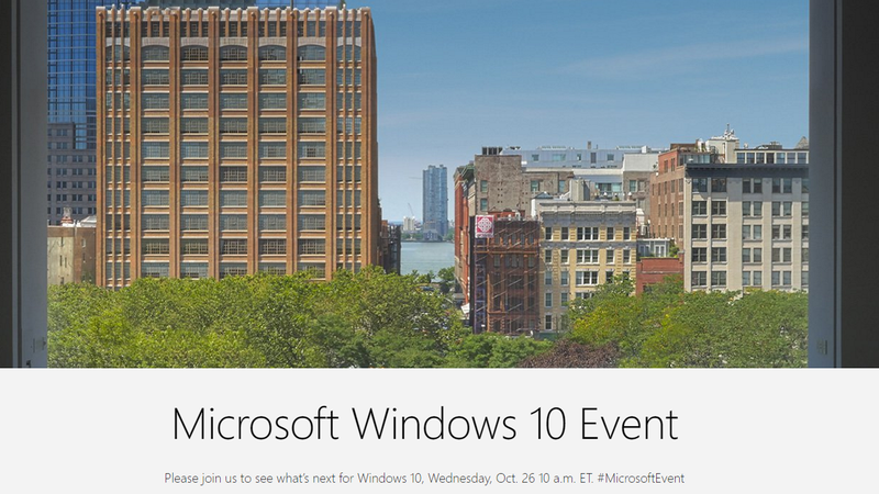 Illustration for article titled How to Watch Today's Microsoft Windows 10 Event Live