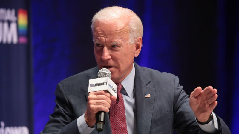 Joe Biden Insists He Is a Champion of Equality Right Before Calling a Woman Moderator 'Sweetheart'