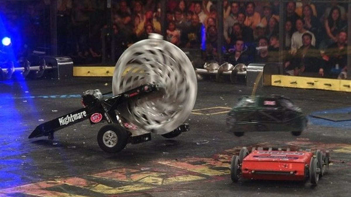 want to watch battlebots in person wait that s not even a question