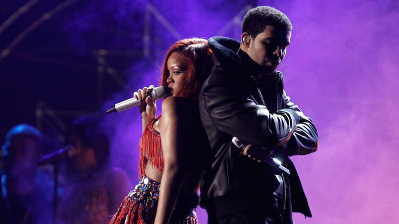 Illustration for article titled Rihanna and Drake Are Back Together For Real This Time (Again)