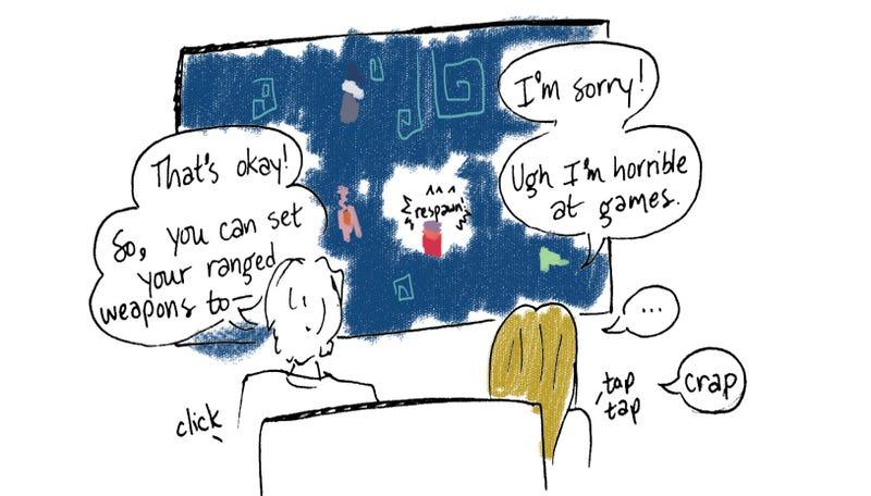 Illustration for article titled E3 Comic #3: Crap, I'm Sorry!