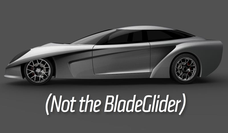 Latest rendering of the DeltaWing GT prototype. Base image: DeltaWing Technologies; Caption: Ours