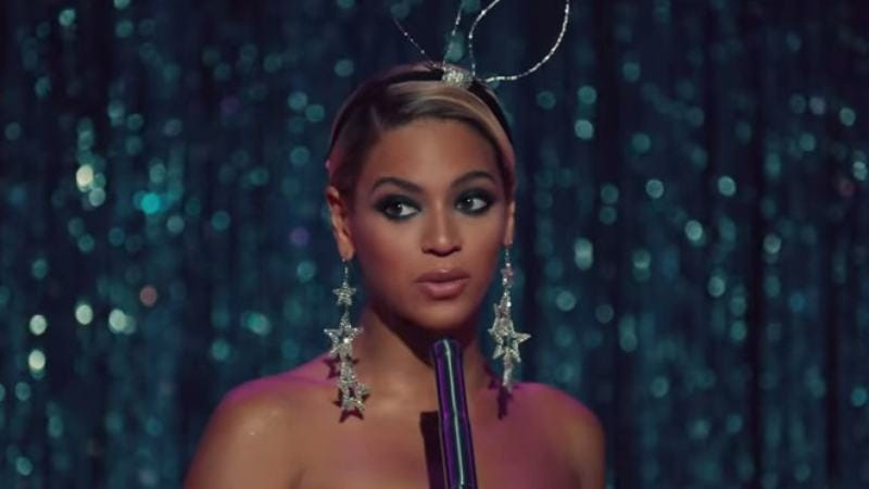 "The video for Beyoncé's ""Pretty Hurts"""