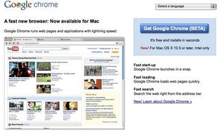 Illustration for article titled Google Chrome for Mac and Linux: They're Here