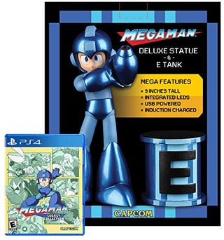 Illustration for article titled Megaman Legacy Collection Limited Edition