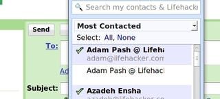 Illustration for article titled Gmail (Finally) Adds a Contact Chooser