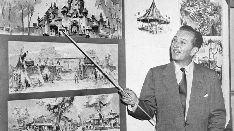 Illustration for article titled Walt Disney's Original Proposal For Disneyland Reveals How It Became The Happiest Place On Earth