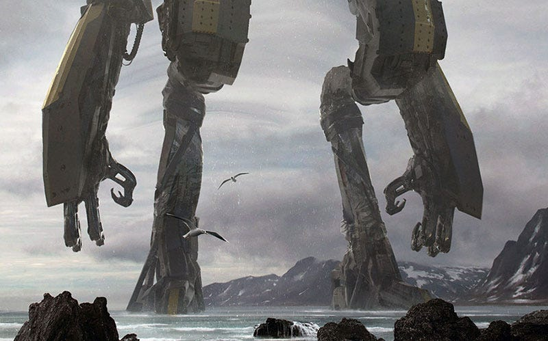 Illustration for article titled Shadow Of The Colossal Robot
