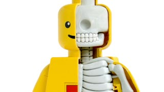 Illustration for article titled Even the Guts and Skeleton of a LEGO Figure Looks Cute