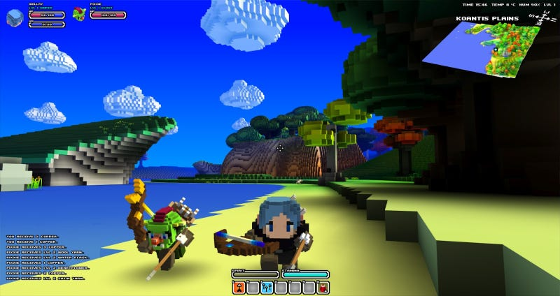 Illustration for article titled Cube World Developer Says His Game's Servers Are Under Attack
