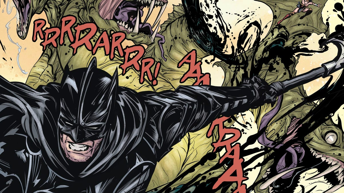 Batman and Catwoman's Engagement Just Ran Into a