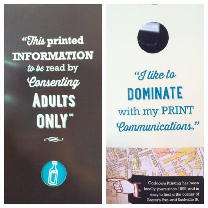 Illustration for article titled Toronto Printing Company Uses Jian Ghomeshi Quote as Advertising