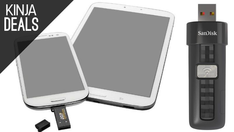 Illustration for article titled These Discounted Flash Drives Work With Android and iOS Too