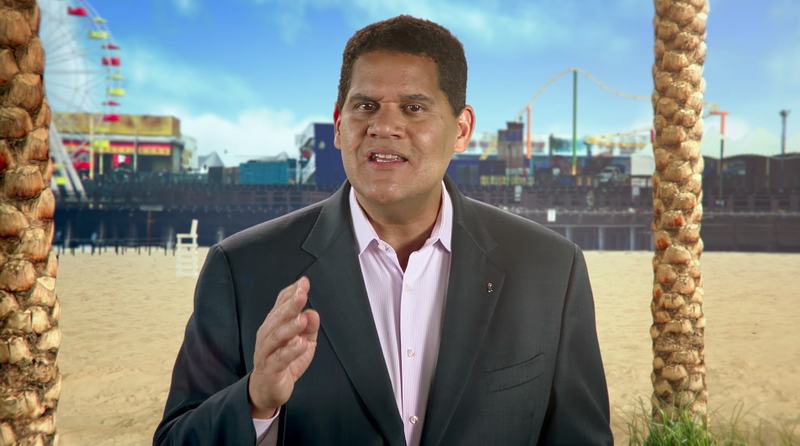 Illustration for article titled Nintendo's Reggie Fils-Aime On Switch Voice Chat, Lack Of Back-Ups Saves And 'Virtual Console'