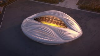 Illustration for article titled Architect of Giant Vagina Stadium Says It Doesn't Look like a Vagina