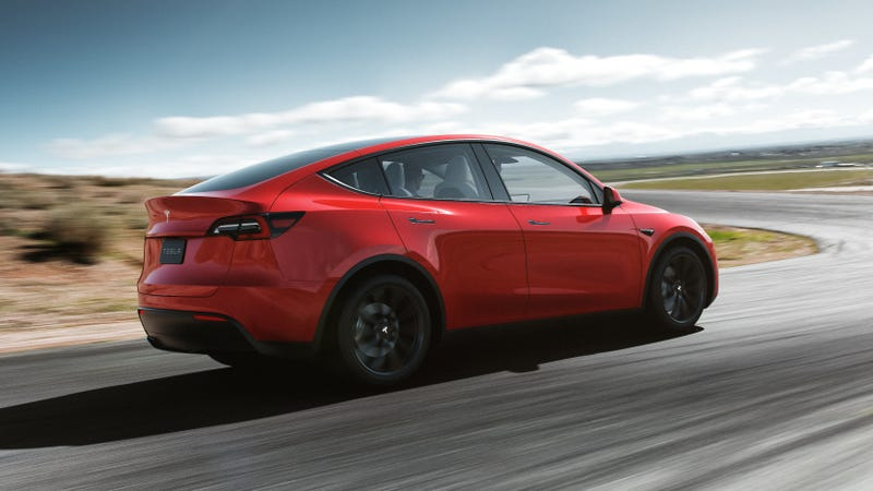 The Tesla Model Y Photo