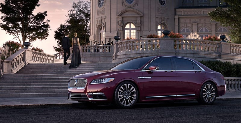 Illustration for article titled The 2017 Lincoln Continental Will Make America Great Again Starting At $45,485