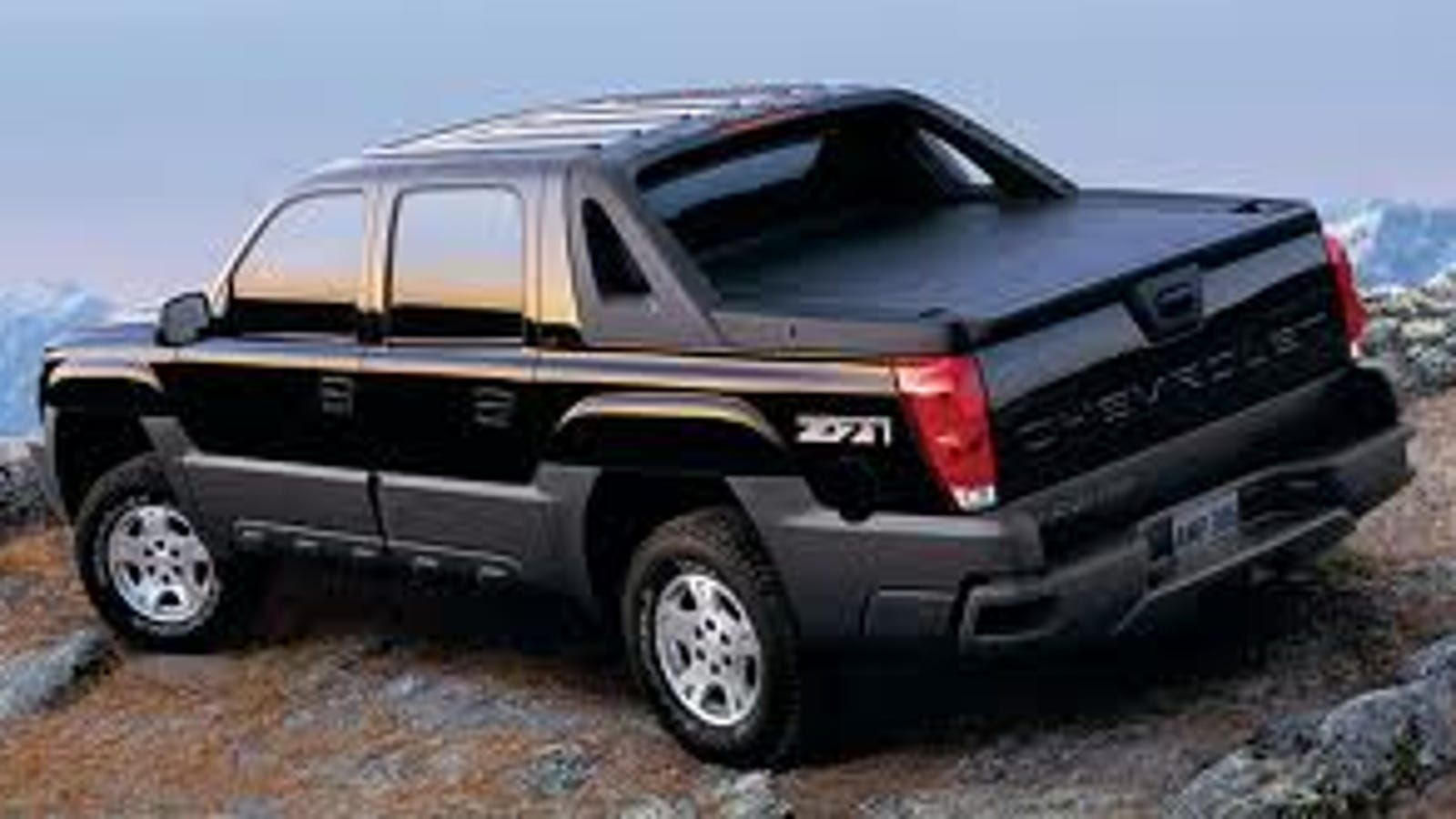Why the Chevy Avalanche is the Vehicle of Asshats Everywhere.