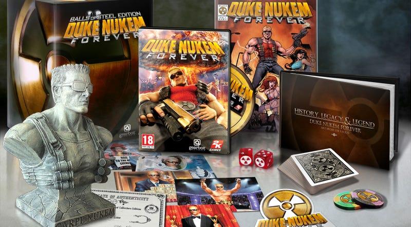 Illustration for article titled Duke Nukem Forever Gives Its Biggest Fans Balls Of Steel