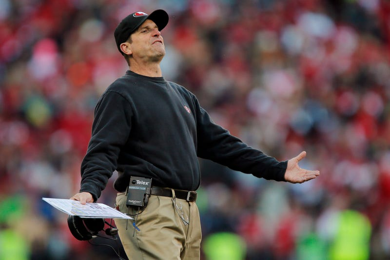 Illustration for article titled Jim Harbaugh Once Pissed Himself To Get A Picture With A Ballplayer