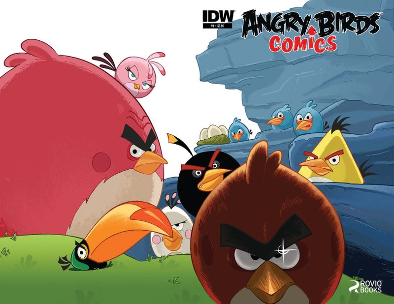Illustration for article titled Wait, There Weren't Angry Birds Comics Already?