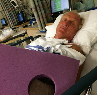 Illustration for article titled Greg Norman Says He Almost Lost His Hand In A Chainsaw Accident