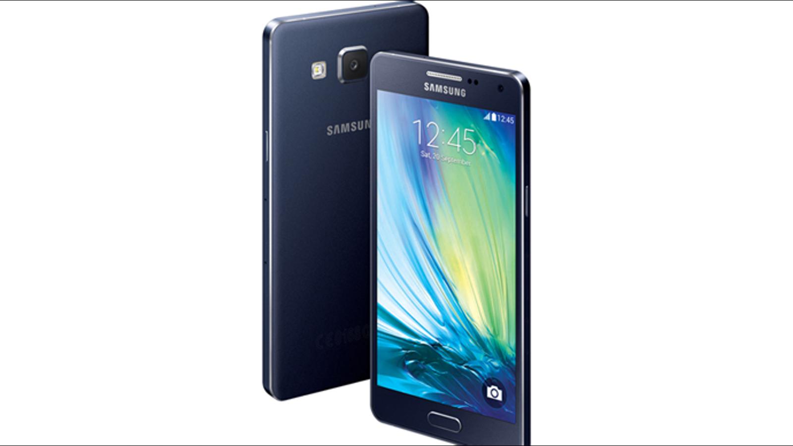 Samsung Galaxy A5 y A3, los smartphones metálicos más finos de Samsung