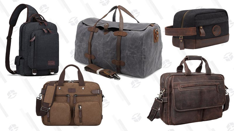 Save 25% or more on S-ZONE Men's Bags | Amazon