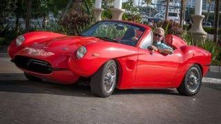 The Renew, a hemp composite, miata powered sports car