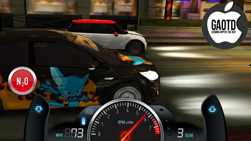 Illustration for article titled The Best Street Races on the iPhone Only Last 10 Seconds