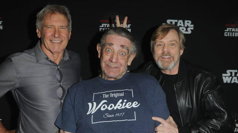 Harrison Ford and Mark Hamill were just two of the many Star Wars alums paying tribute to the late, great, Peter Mayhew.