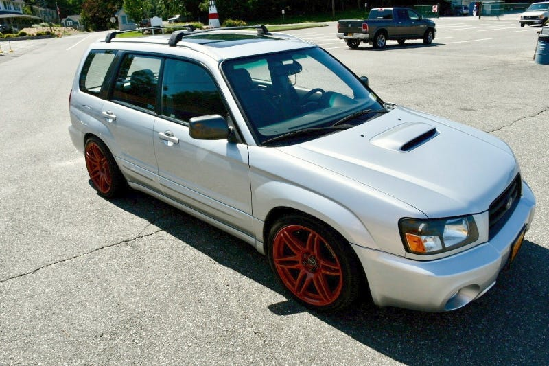 Illustration for article titled At $8,100, Could You See This 2005 Subaru Forester For The Fees?