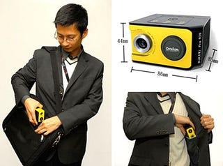 Illustration for article titled Oculon Hikari Pro920 Pocket Projector Debuts for $299