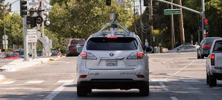 Illustration for article titled Google Needs To Come Clean About Its Self-Driving Car Crashes