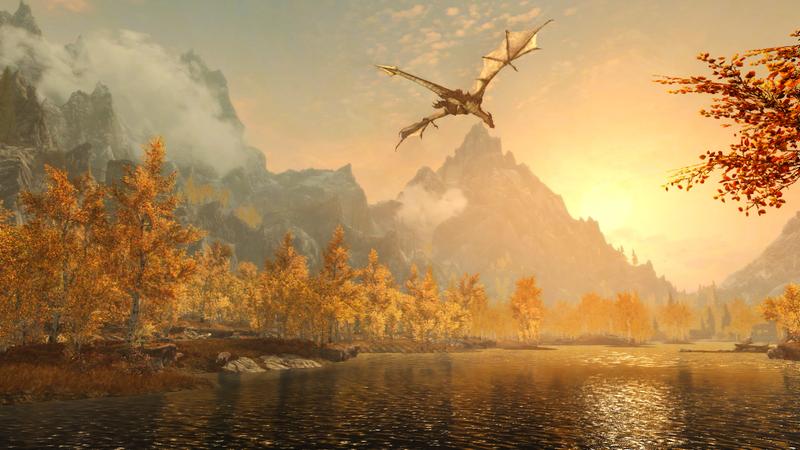 Skyrim Remastered via Bethesda.net