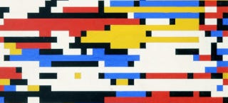 Illustration for article titled This Digital Mondrian Was Made in 1964