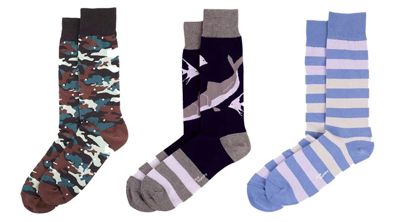 Illustration for article titled Black Friday Bests From Nice Laundry: Customize A 3-Pack Of Socks, Get A Free Pair + Free Shipping ($49)