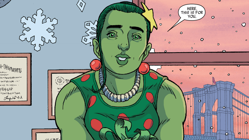 Illustration for article titled The Gwenpool Holiday Special Is A Marvel Christmas Done Right